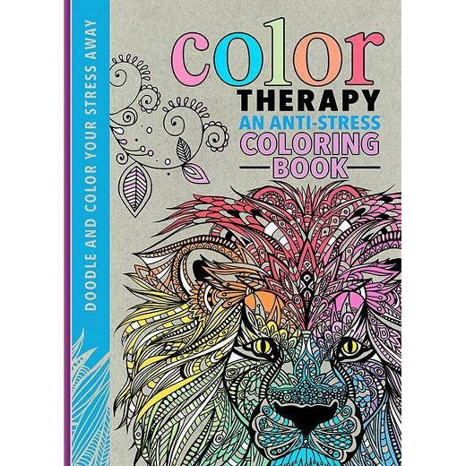 Best ideas about Adult Coloring Books Target . Save or Pin Color Therapy Adult Coloring Book An Anti stress Coloring Now.