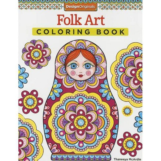 Best ideas about Adult Coloring Books Target . Save or Pin Folk Art Adult Coloring Book Tar Now.