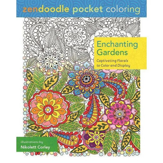 Best ideas about Adult Coloring Books Target . Save or Pin Enchanting Gardens Adult Coloring Book Tar Now.