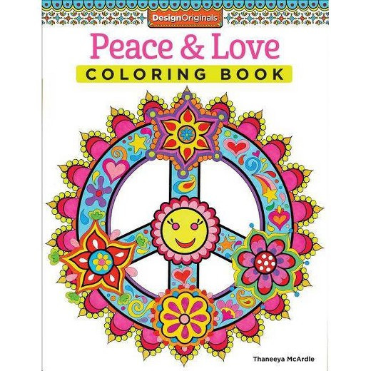 Best ideas about Adult Coloring Books Target . Save or Pin Peace & Love Adult Coloring Book Tar Now.