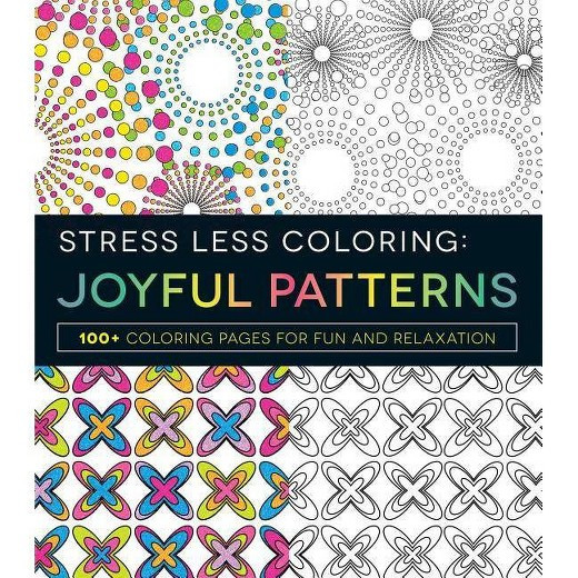 Best ideas about Adult Coloring Books Target . Save or Pin Joyful Patterns Adult Coloring Book 100 Coloring Pages Now.