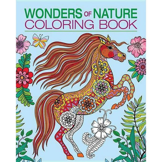 Best ideas about Adult Coloring Books Target . Save or Pin Wonders of Nature Adult Coloring Book Tar Now.