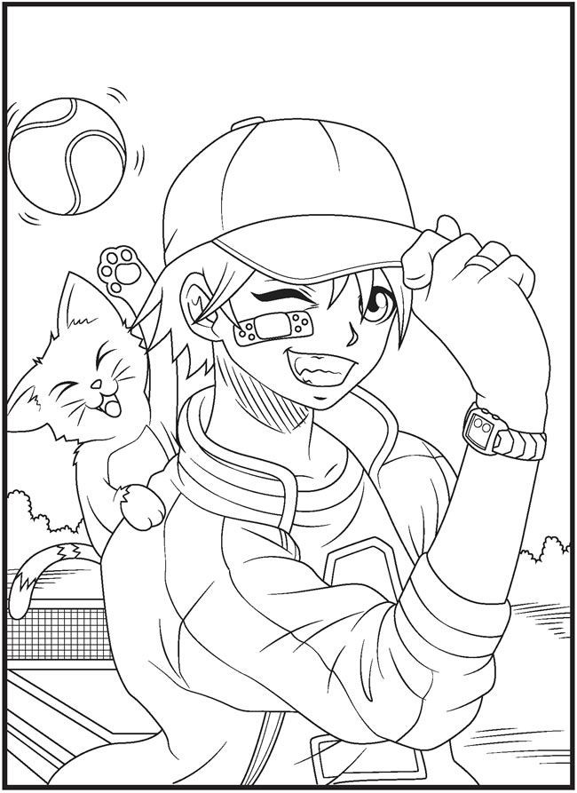 Best ideas about Adult Coloring Pages For Boys . Save or Pin 80 best Manga canary yampuf enz images on Pinterest Now.