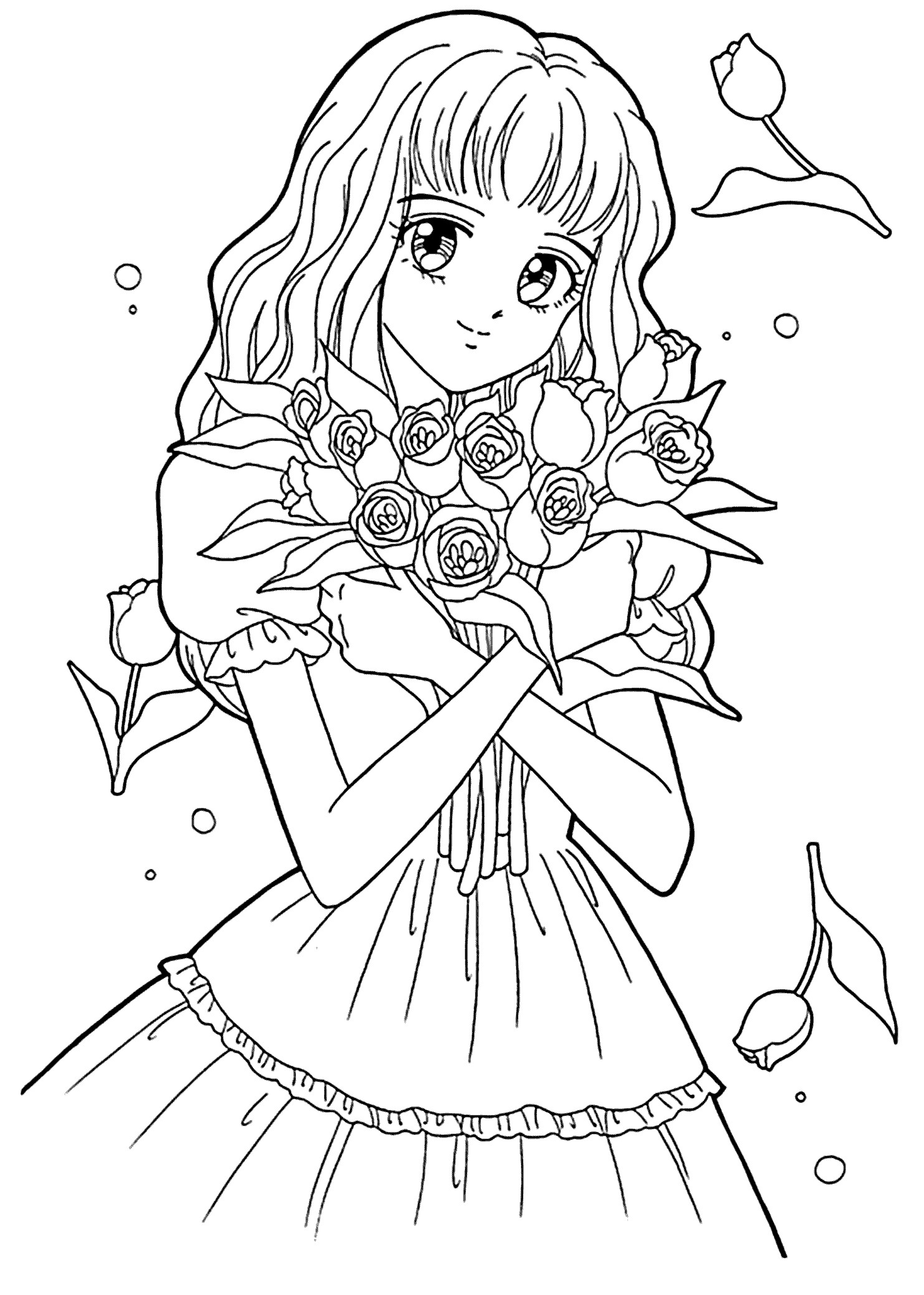 Best ideas about Adult Coloring Pages For Boys . Save or Pin Adult Coloring Pages Anime Collection Now.