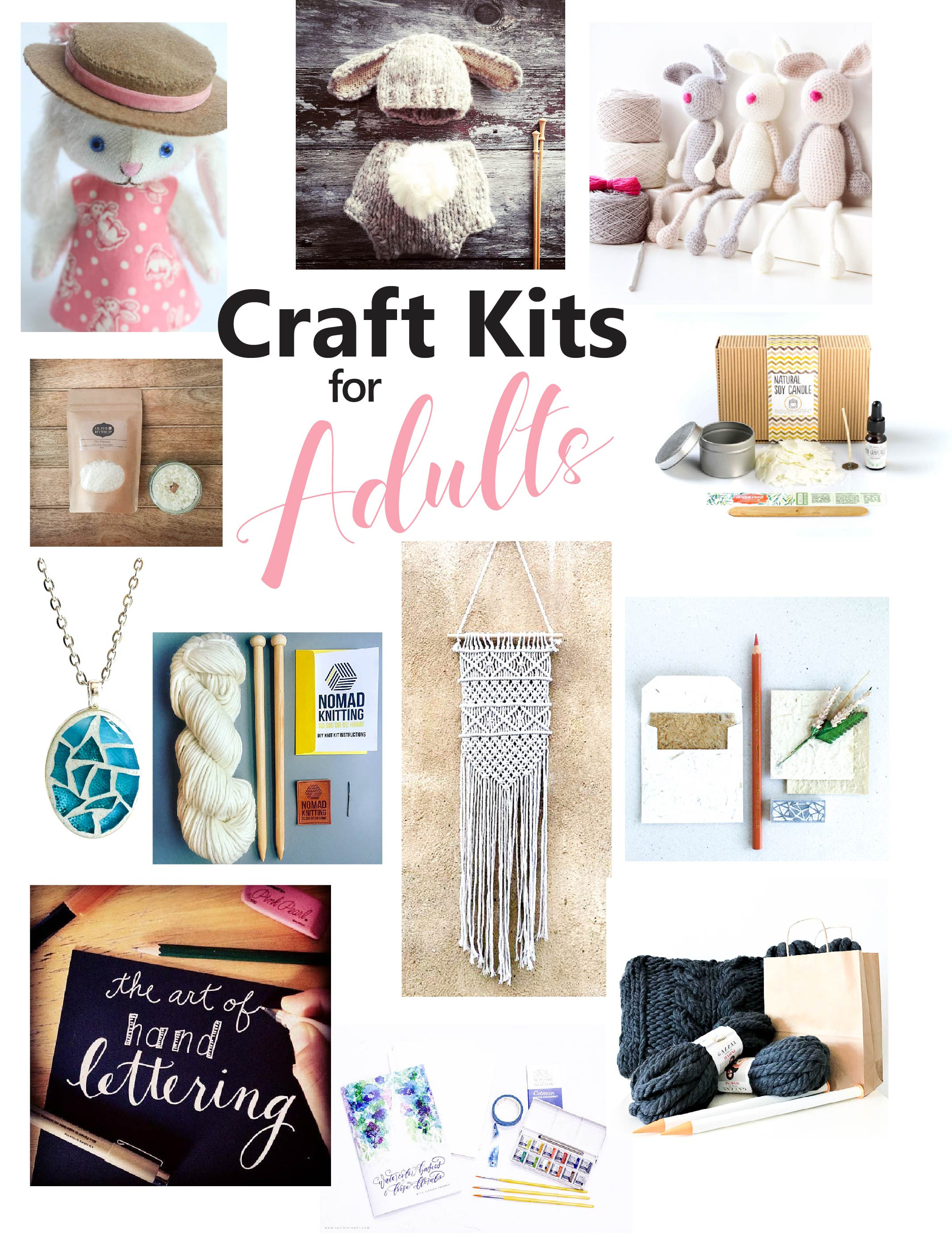 Best ideas about Adult Craft Kits . Save or Pin The Best Craft Kits for Adults – Sustain My Craft Habit Now.