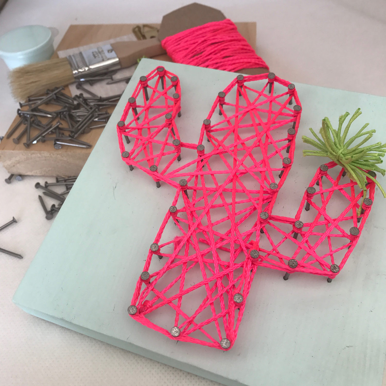 Best ideas about Adult Craft Kits . Save or Pin DIY String Art Kit Craft Kit Gift for Adults Gift for Now.