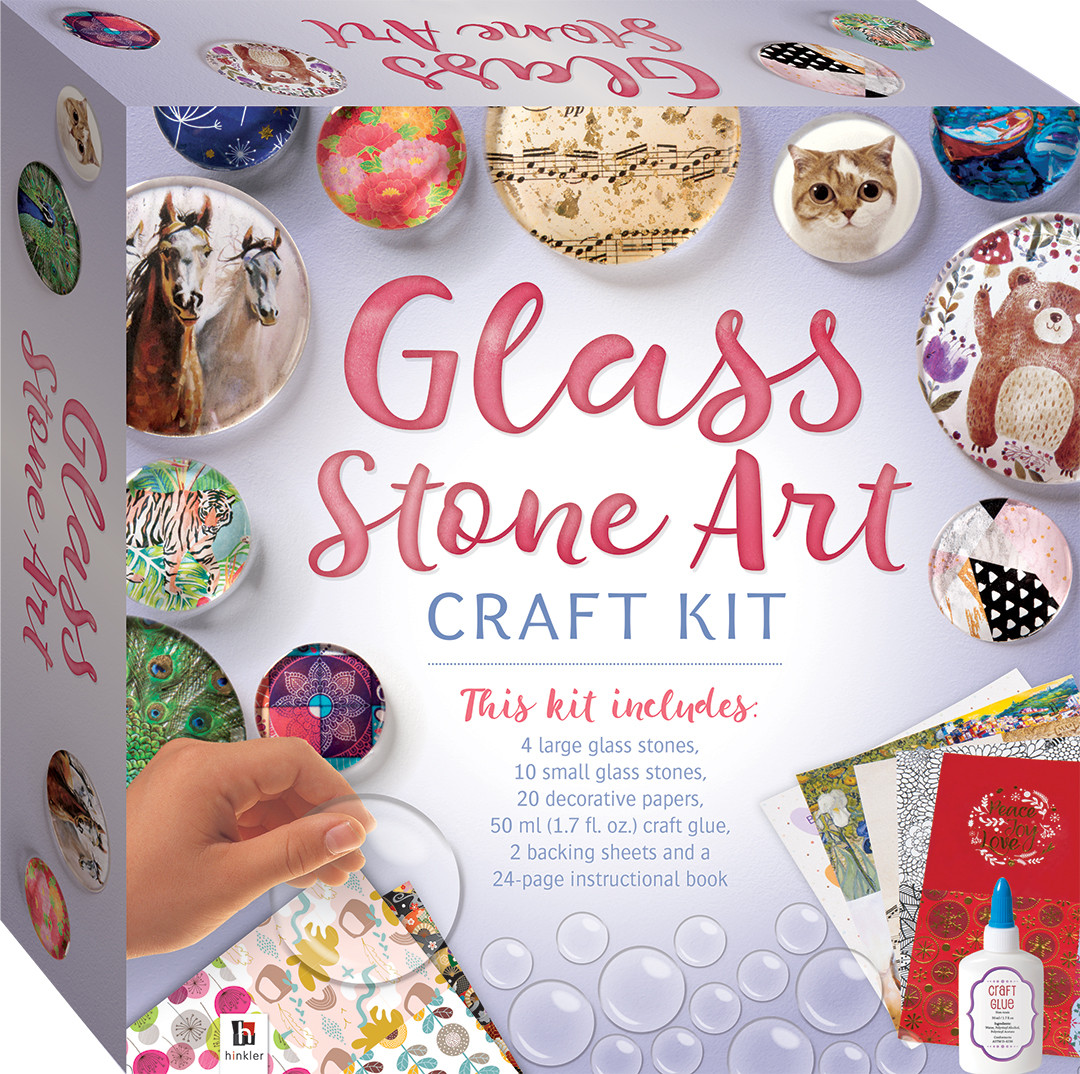 Best ideas about Adult Craft Kits . Save or Pin Glass Stone Art Craft Small Kit Craft Kits Art Craft Now.