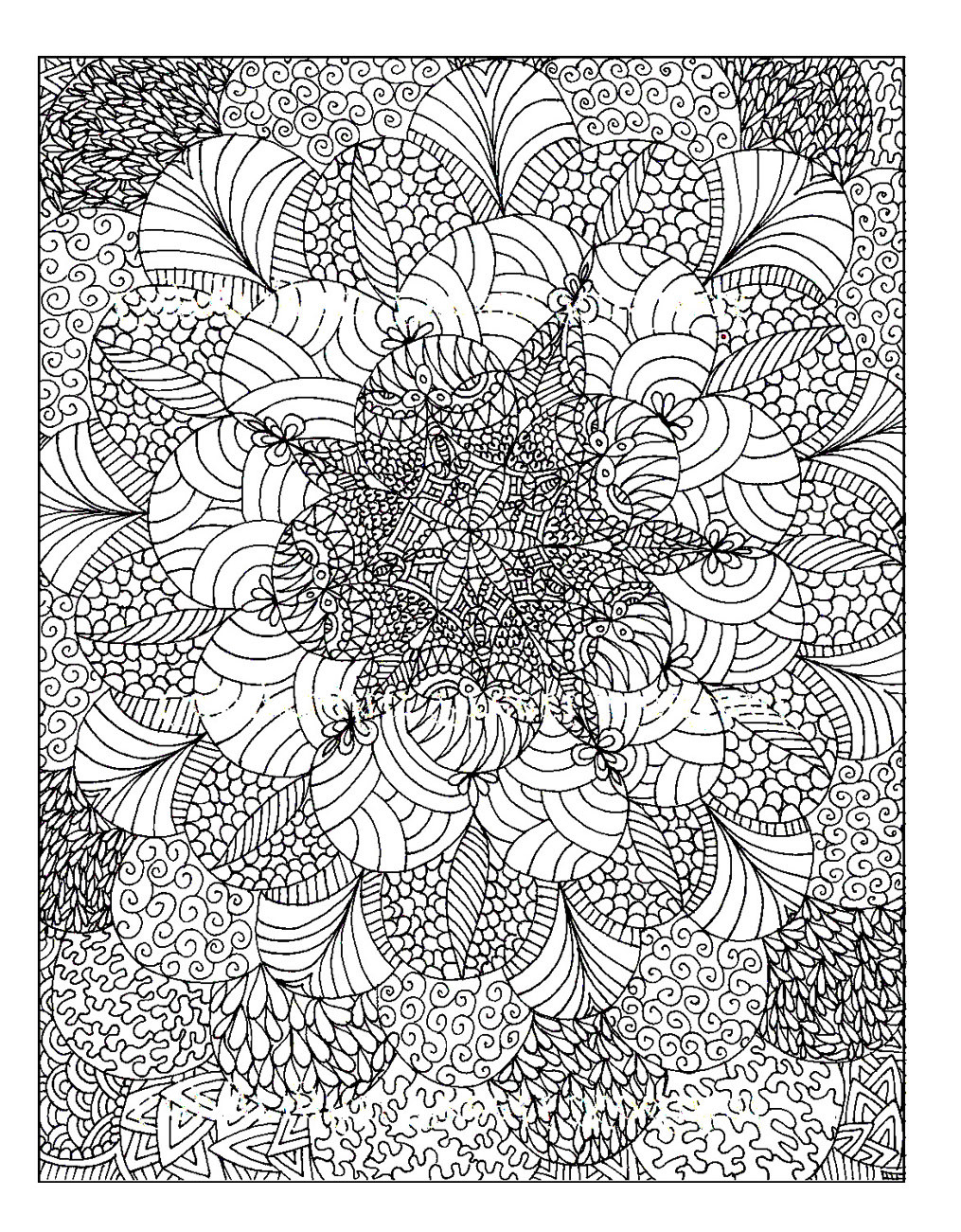 Best ideas about Adult Stress Coloring Books . Save or Pin Colouring for Adults Anti Stress Colouring Printables Now.