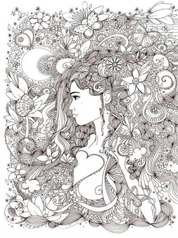 Best ideas about Adult Stress Coloring Books . Save or Pin Anti Stress coloring pages for adults Free Printable Anti Now.