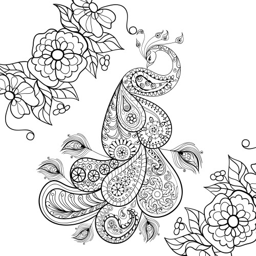 Best ideas about Adult Themed Coloring Books . Save or Pin Bird Themed Adult Coloring Page KidsPressMagazine Now.