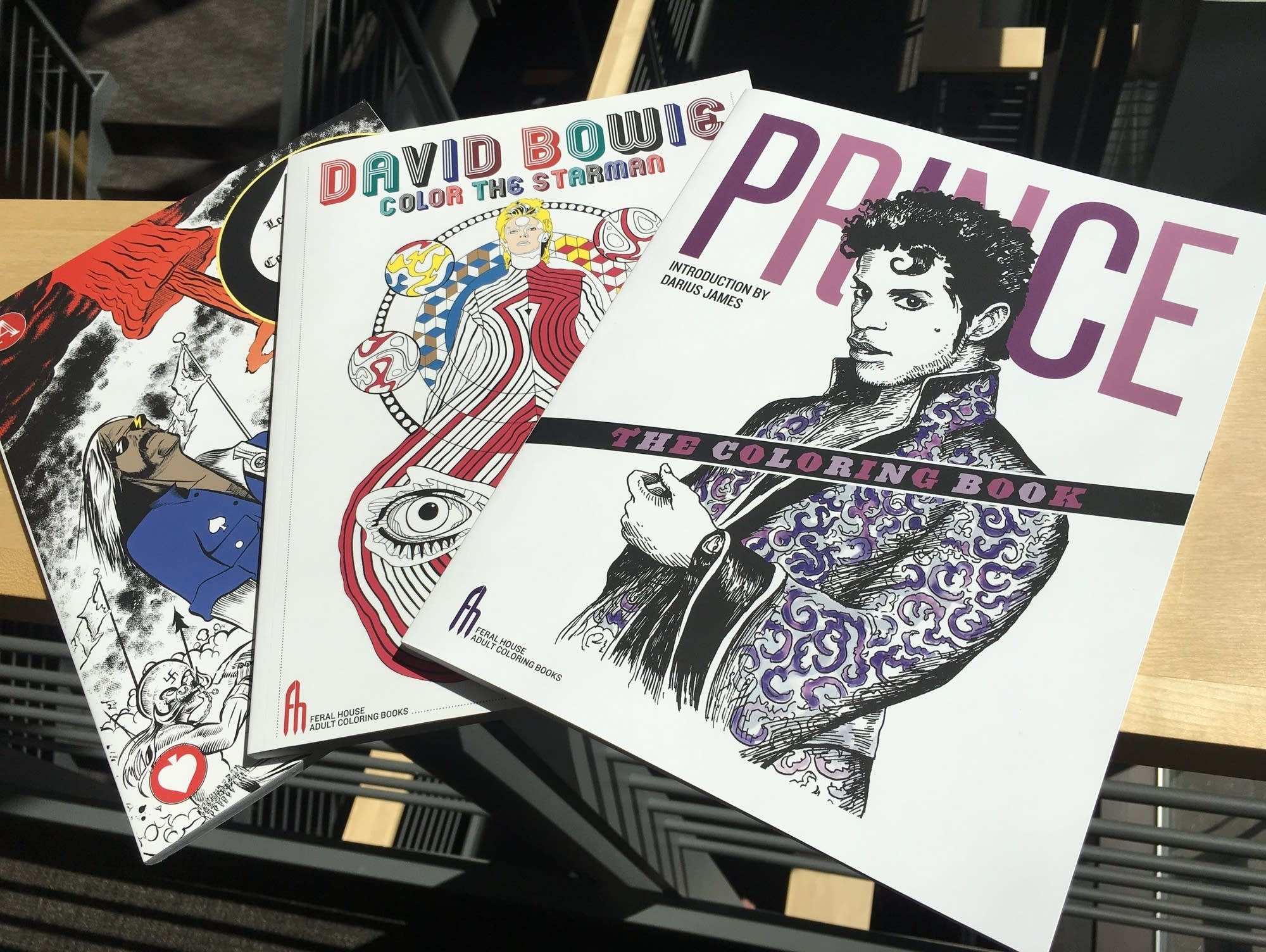 Best ideas about Adult Themed Coloring Books . Save or Pin Rock and Roll Book Club Coloring books feature Prince Now.