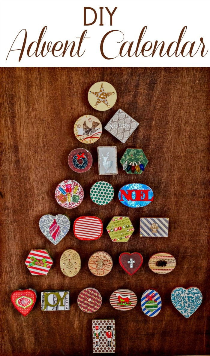 Best ideas about Advent Calendar DIY . Save or Pin DIY Advent Calendar Now.