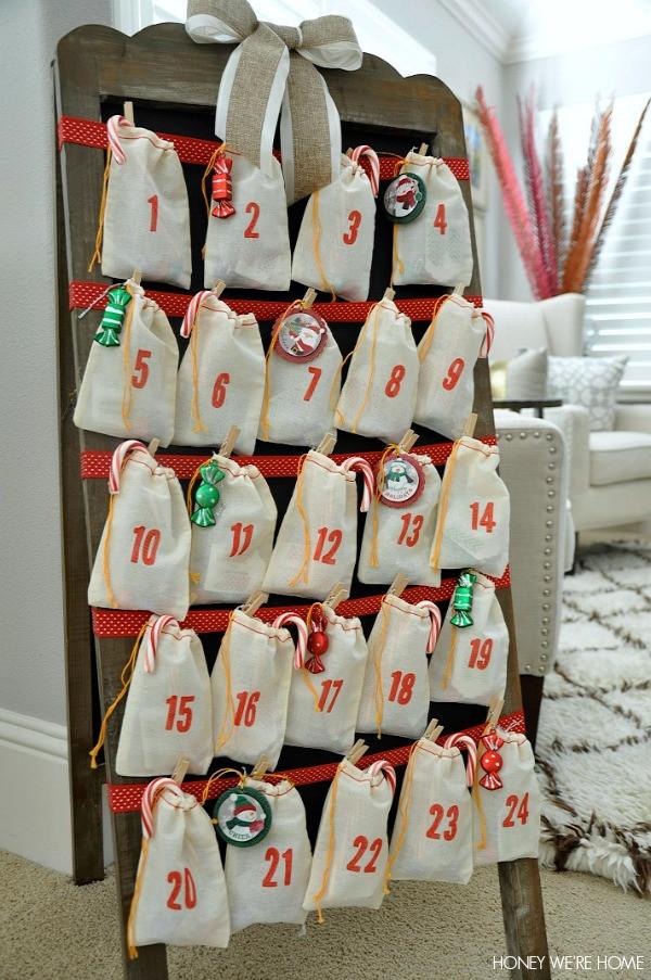 Best ideas about Advent Calendar DIY . Save or Pin Honey We re Home DIY Advent Calendar Now.