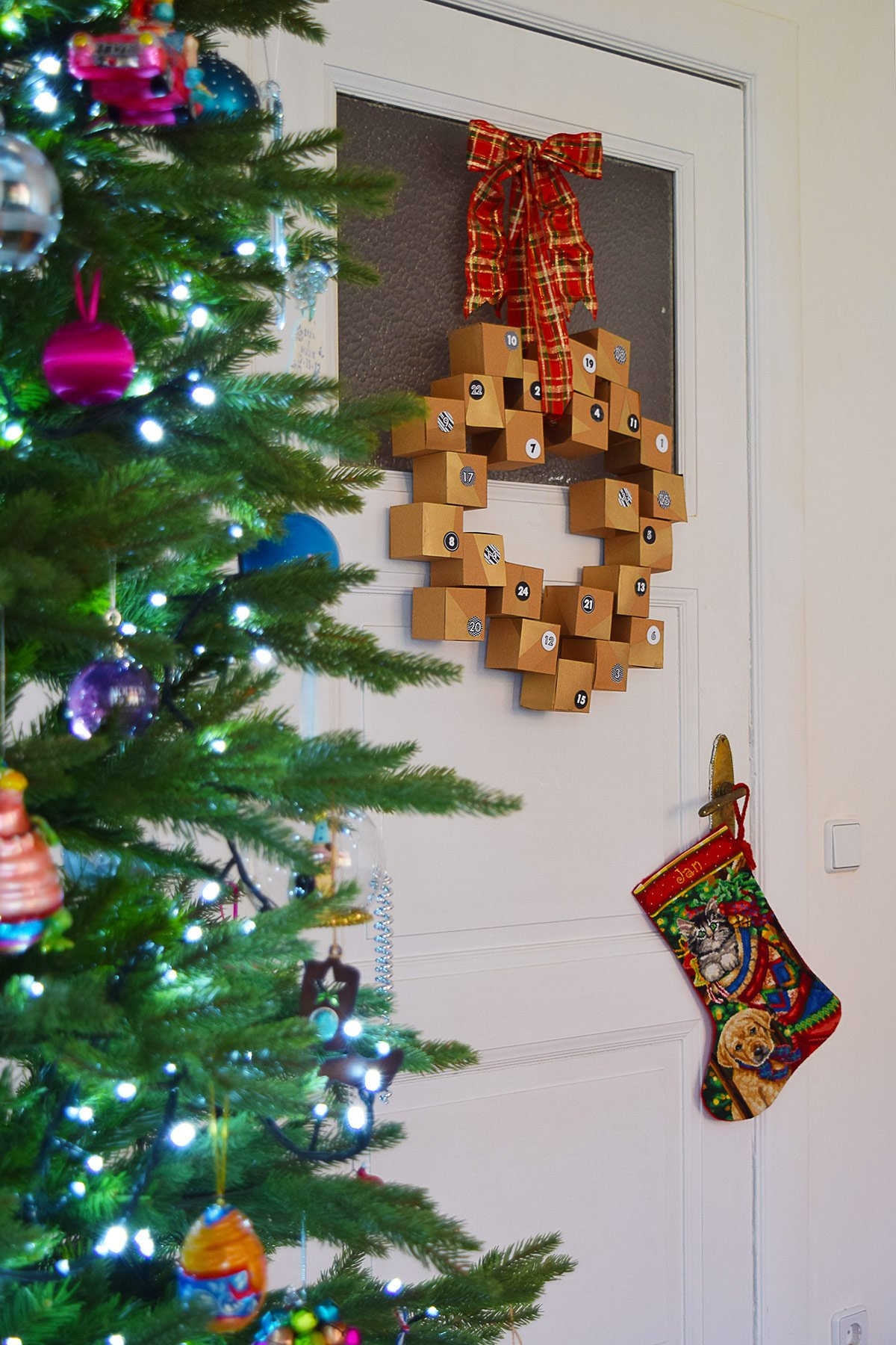 Best ideas about Advent Calendar DIY . Save or Pin DIY Advent Calendar Wreath A Free Printable Little Now.