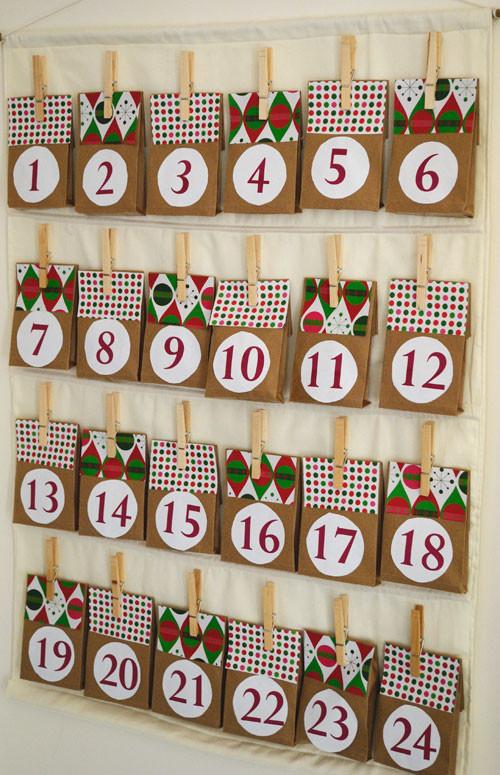 Best ideas about Advent Calendar DIY . Save or Pin Easy DIY Advent Calendar Now.