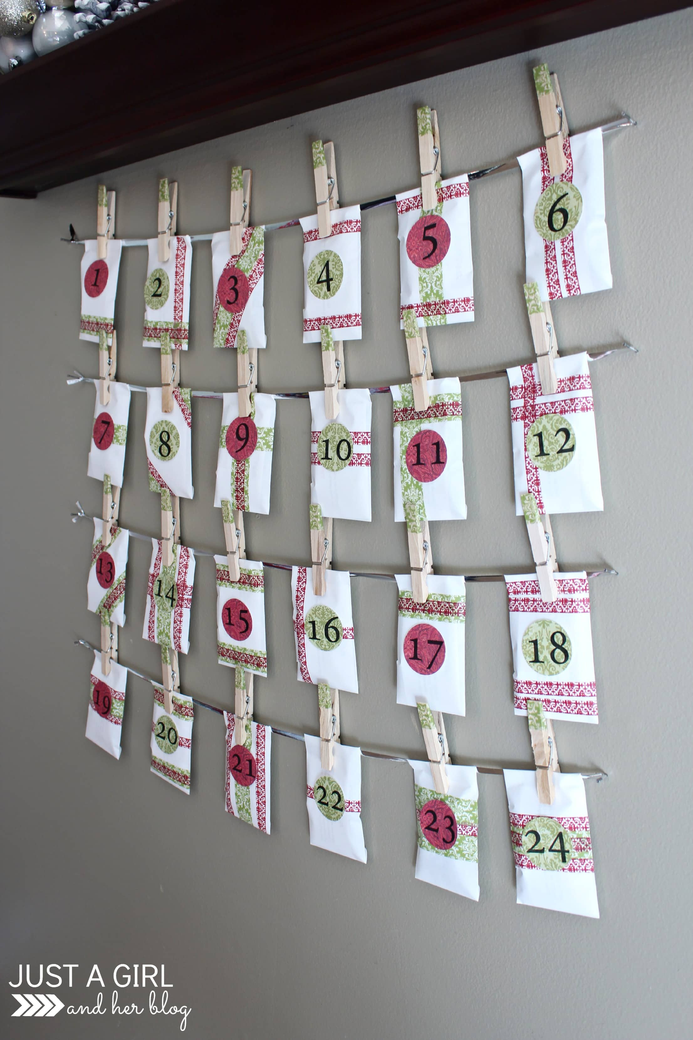 Best ideas about Advent Calendar DIY . Save or Pin Our DIY Advent Calendar with FREE Printables  Just a Now.