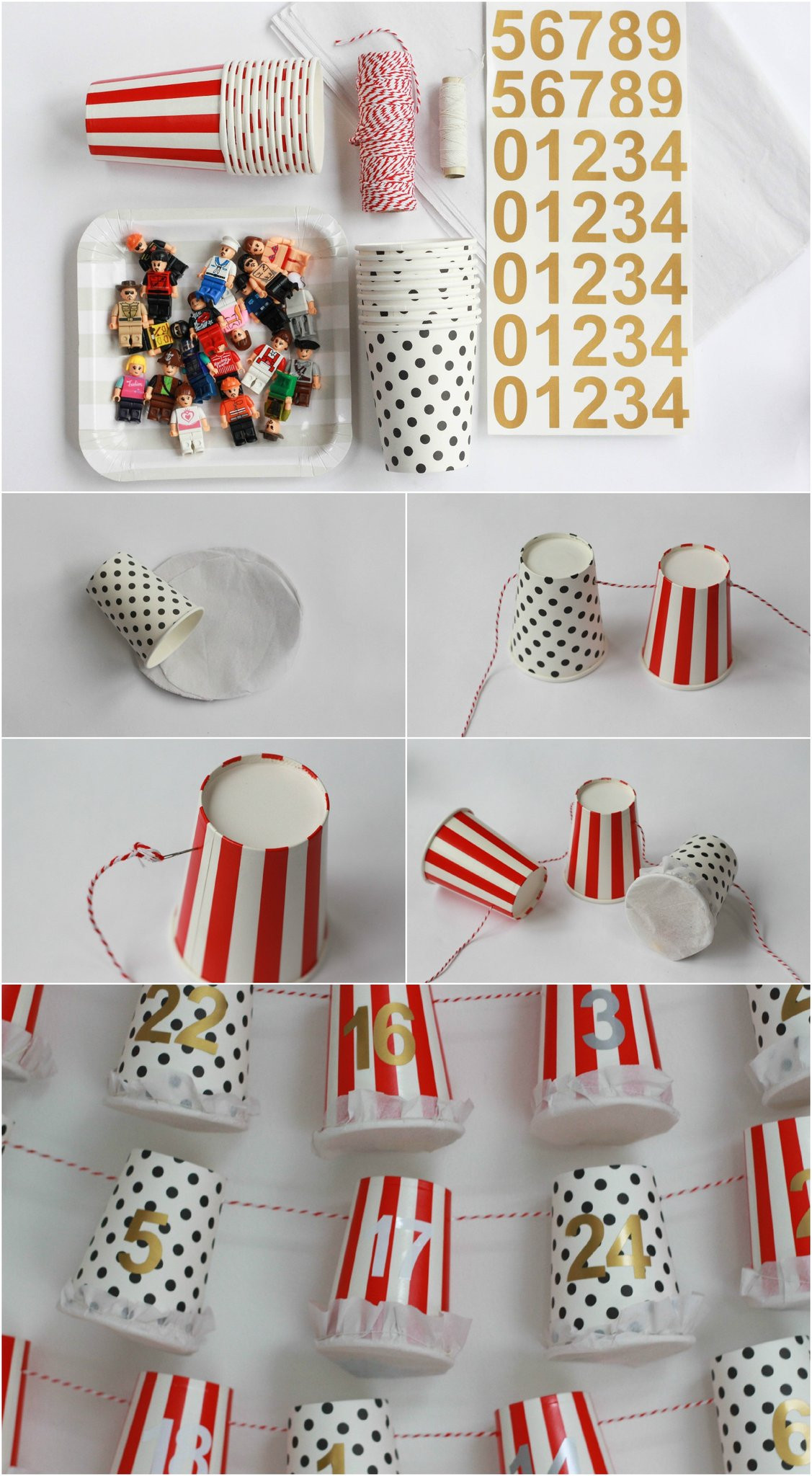 Best ideas about Advent Calendar DIY . Save or Pin DIY Advent Calendar Tutorial Paper Cup Advent Pretty Now.