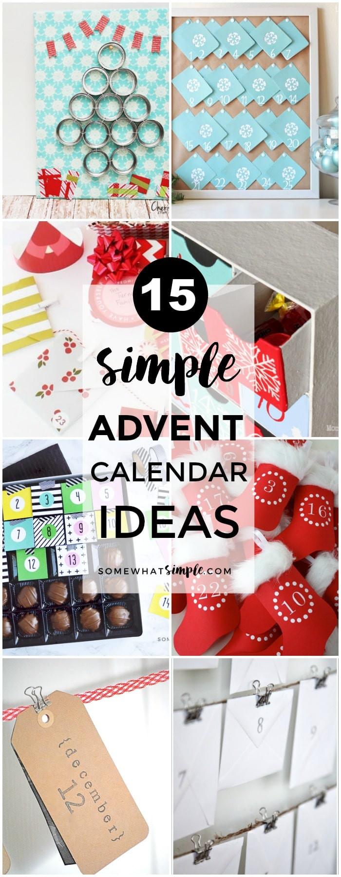 Best ideas about Advent Calendar DIY . Save or Pin 12 DIY Advent Calendar Ideas Now.