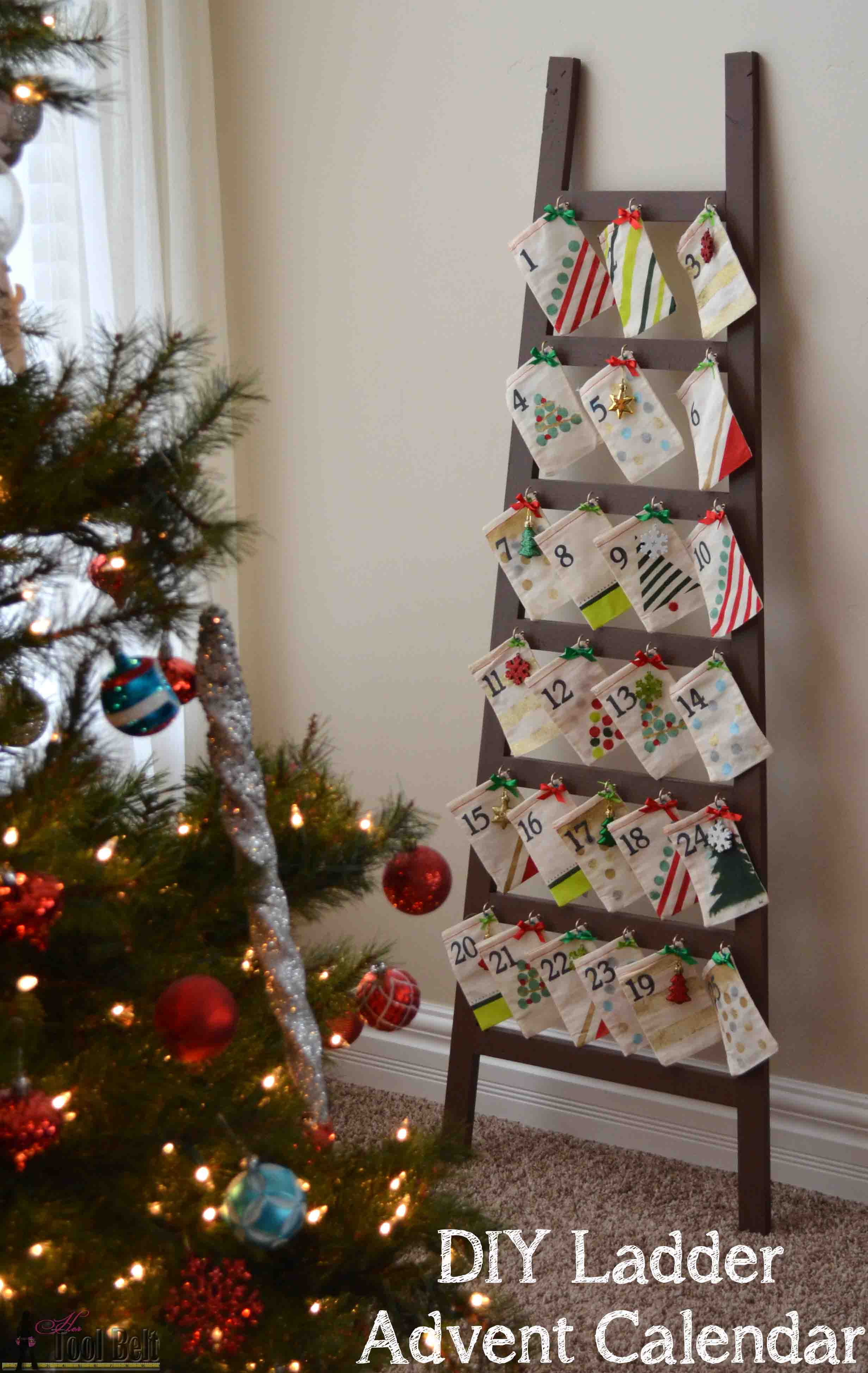 Best ideas about Advent Calendar DIY . Save or Pin Ladder Advent Calendar Her Tool Belt Now.