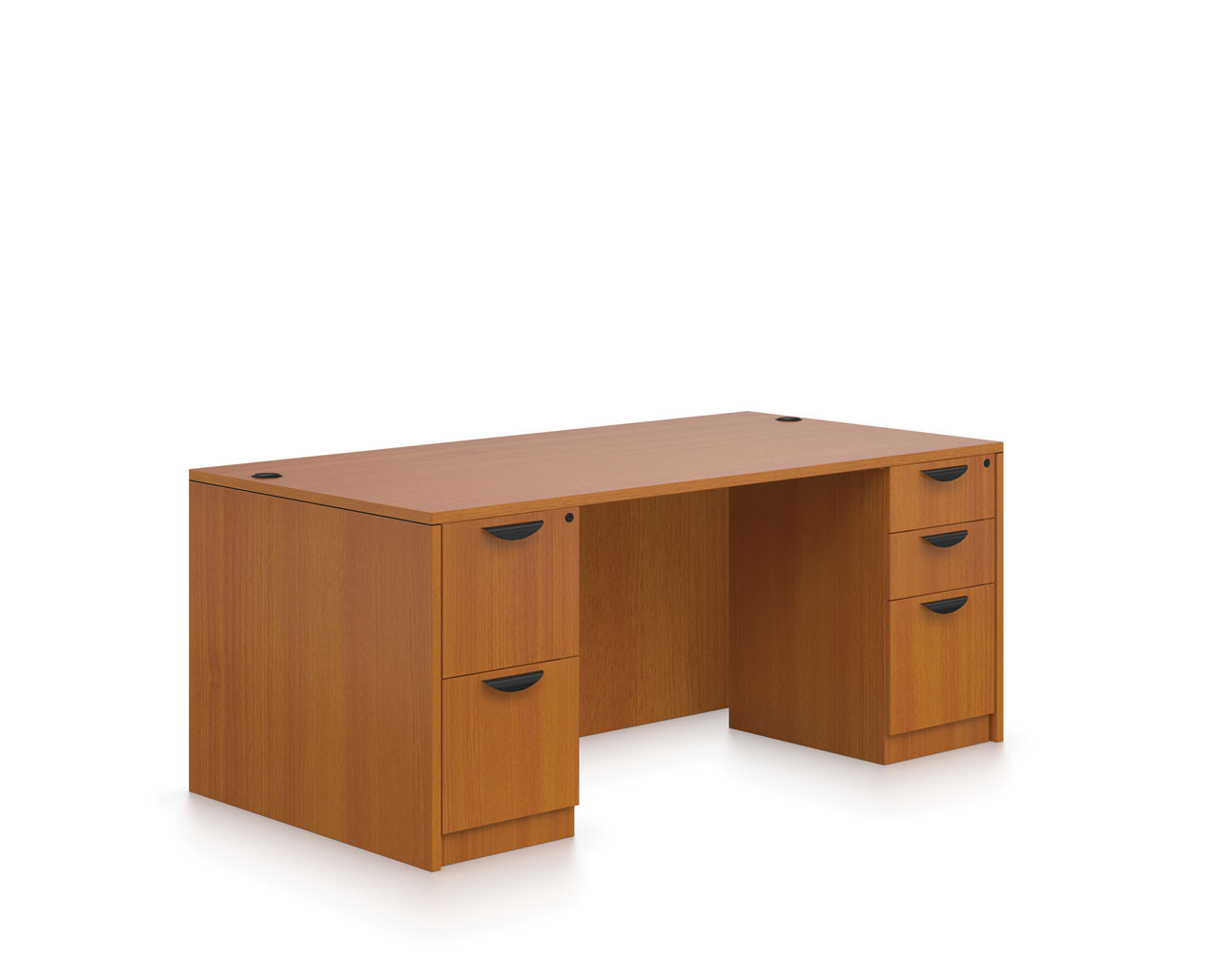 Best ideas about Affordable Office Furniture . Save or Pin Double Pedestal Desk Affordable fice Furniture Desk Now.