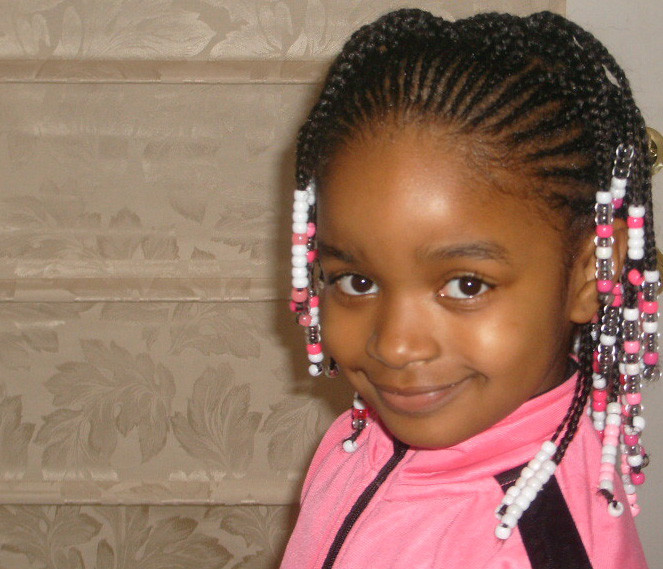Best ideas about African Kids Hairstyle . Save or Pin Black Girl Hairstyle For Kids Now.