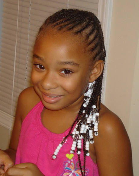 Best ideas about African Kids Hairstyle . Save or Pin Black kids hairstyles braids Now.