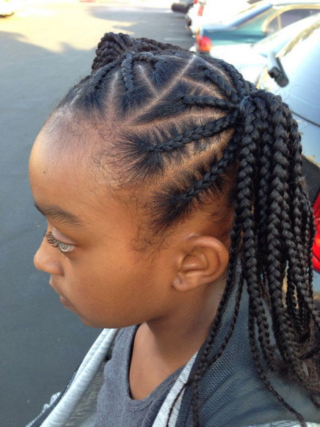 Best ideas about African Kids Hairstyle . Save or Pin African braids hairstyles for kids Now.