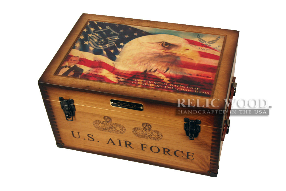 Best ideas about Air Force Gift Ideas . Save or Pin Giving a truly thoughtful t Relic Wood Now.