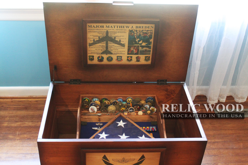 Best ideas about Air Force Gift Ideas . Save or Pin Military Retirement Trunks A New Twist on an Old Now.