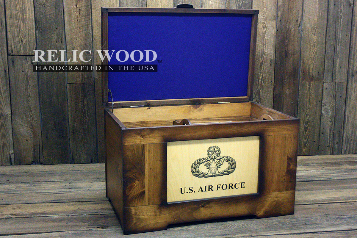 Best ideas about Air Force Gift Ideas . Save or Pin How to be a Gifting Hero Relic Wood Now.