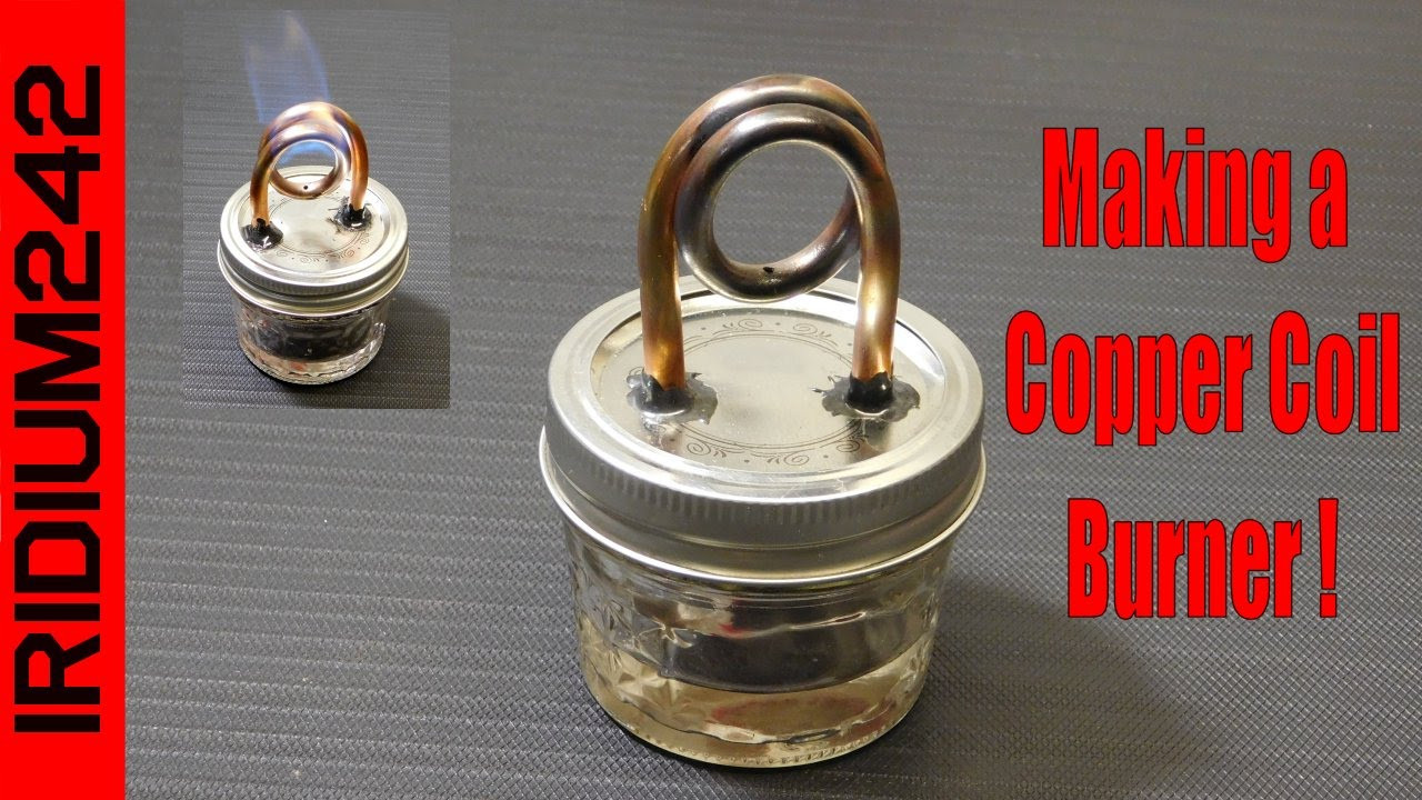 Best ideas about Alcohol Stove DIY . Save or Pin Build Your Own Copper Coil Alcohol Burner Stove Now.