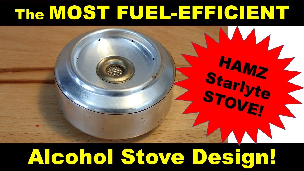 Best ideas about Alcohol Stove DIY . Save or Pin The MOST FUEL EFFICIENT alcohol stove the DIY HAMZ Now.