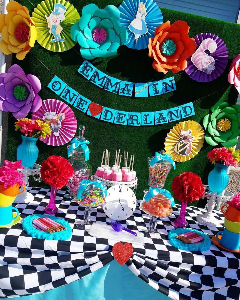 Best ideas about Alice In Wonderland Birthday Decorations . Save or Pin Alice in Wonderland Birthday Party Ideas in 2019 Now.