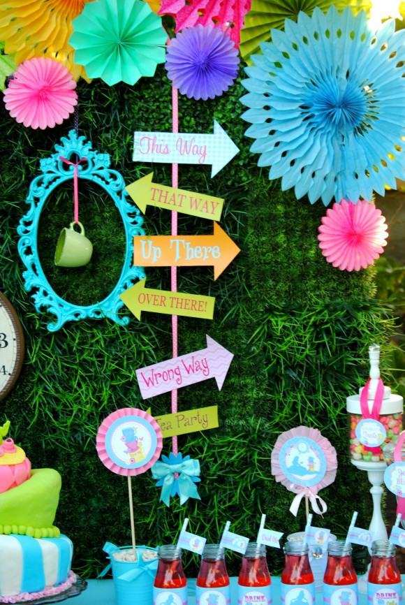 Best ideas about Alice In Wonderland Birthday Decorations . Save or Pin 7 Must Haves for an Alice in Wonderland Party Now.