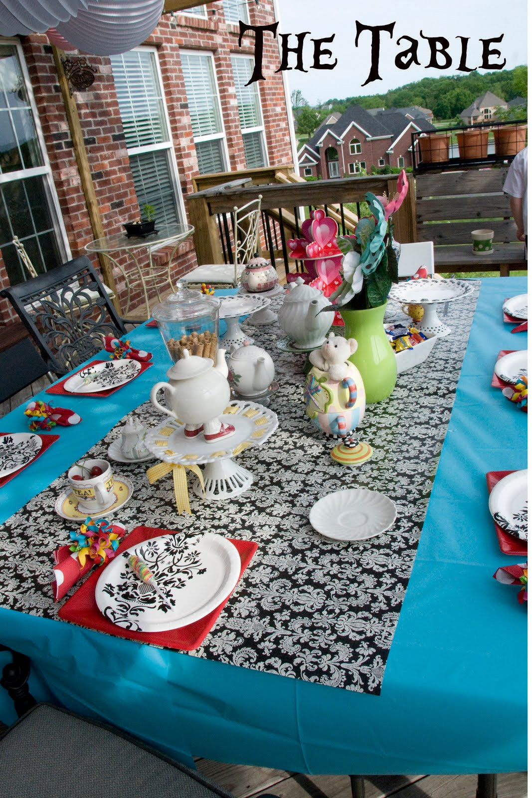 Best ideas about Alice In Wonderland Birthday Decorations . Save or Pin Alice in Wonderland Party Ideas Now.