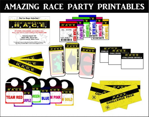 Best ideas about Amazing Race Birthday Party . Save or Pin Amazing Race Party Ideas for Pit stops challenges clues Now.