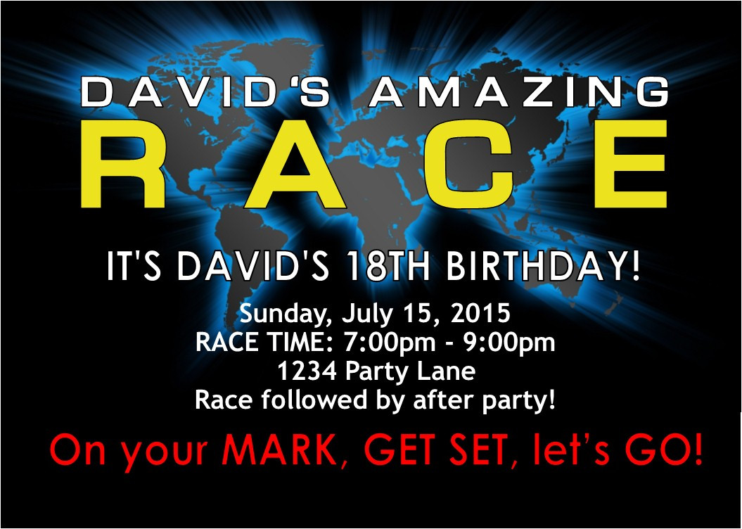 Best ideas about Amazing Race Birthday Party . Save or Pin Amazing Race party supplies and invitations Now.