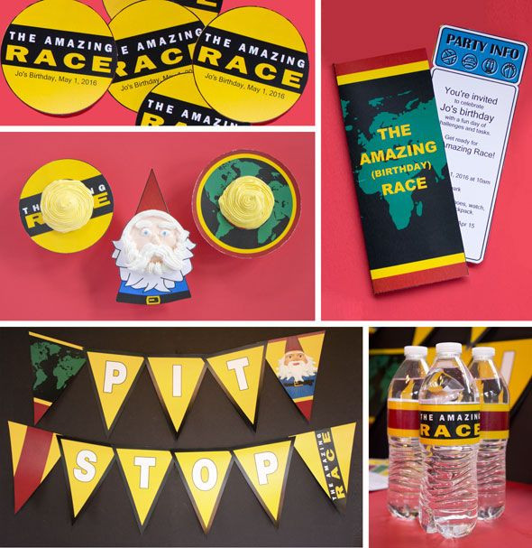 Best ideas about Amazing Race Birthday Party . Save or Pin 17 Best images about Amazing Race Party on Pinterest Now.