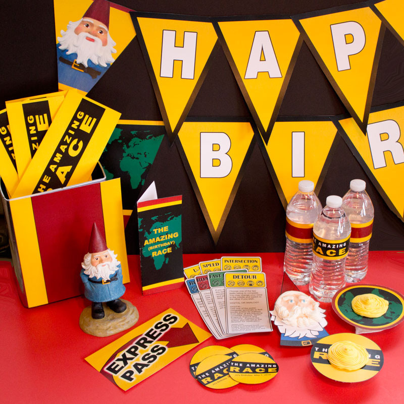 Best ideas about Amazing Race Birthday Party . Save or Pin Amazing Race party printables Now.