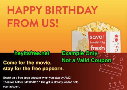 Best ideas about Amc Birthday Party . Save or Pin AMC Theaters Birthday Freebie Now.