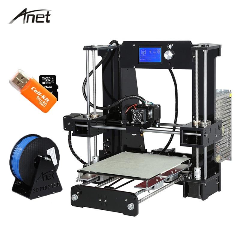 Best ideas about Anet A8 Desktop 3D Printer Prusa I3 DIY Kit Review . Save or Pin Anet A6 Desktop 3D Printer Kit Big Size High Precision Now.