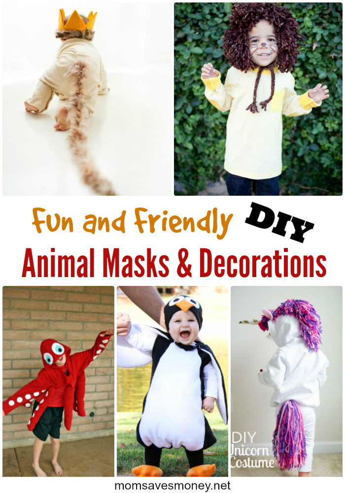 Best ideas about Animal Costume DIY . Save or Pin Fun and Friendly DIY Animal Masks & Costumes Mom Saves Now.