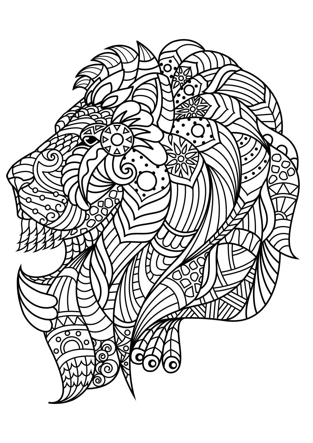 Best ideas about Animal Free Printable Coloring Sheets . Save or Pin Animal coloring pages pdf Coloring Animals Now.