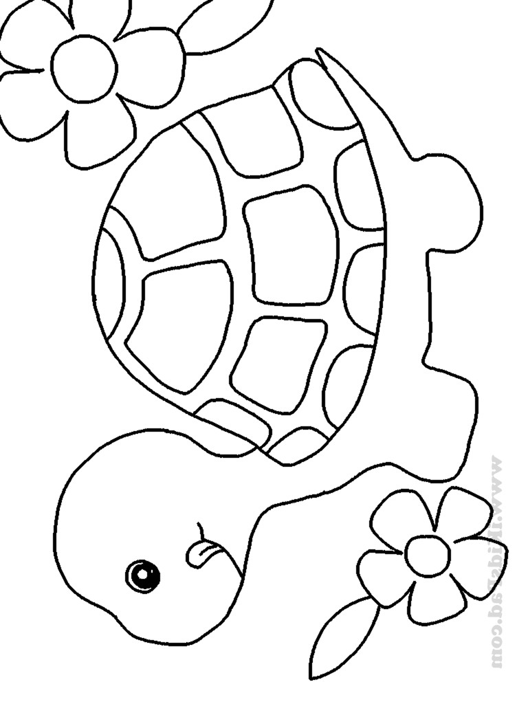Best ideas about Animal Free Printable Coloring Sheets . Save or Pin Cute Baby Animal Coloring Pages To Print AZ Coloring Pages Now.