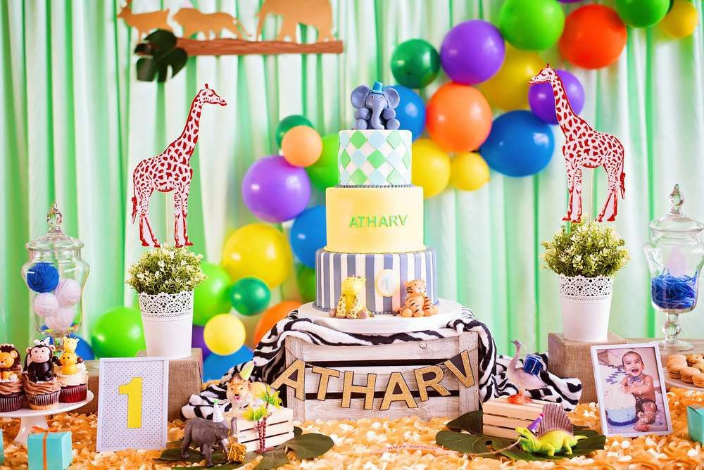 Best ideas about Animal Theme Birthday Party . Save or Pin Party animals theme Birthday Party Ideas in 2019 Now.