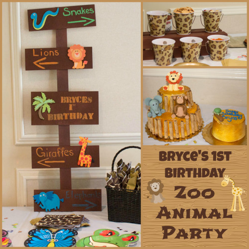 Best ideas about Animal Theme Birthday Party . Save or Pin Zoo Animal Party on Pinterest Now.
