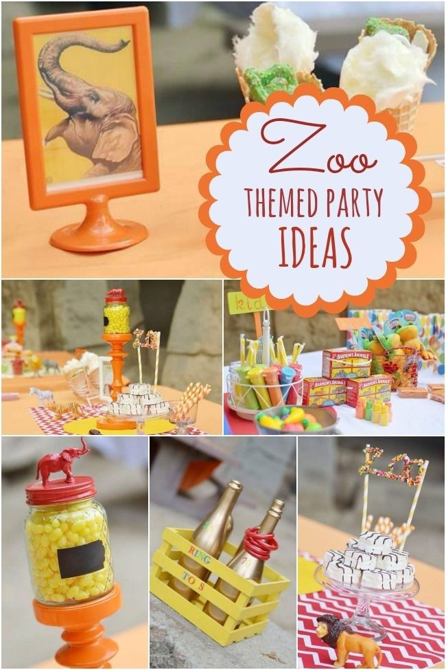 Best ideas about Animal Theme Birthday Party . Save or Pin 25 best ideas about Zoo theme parties on Pinterest Now.