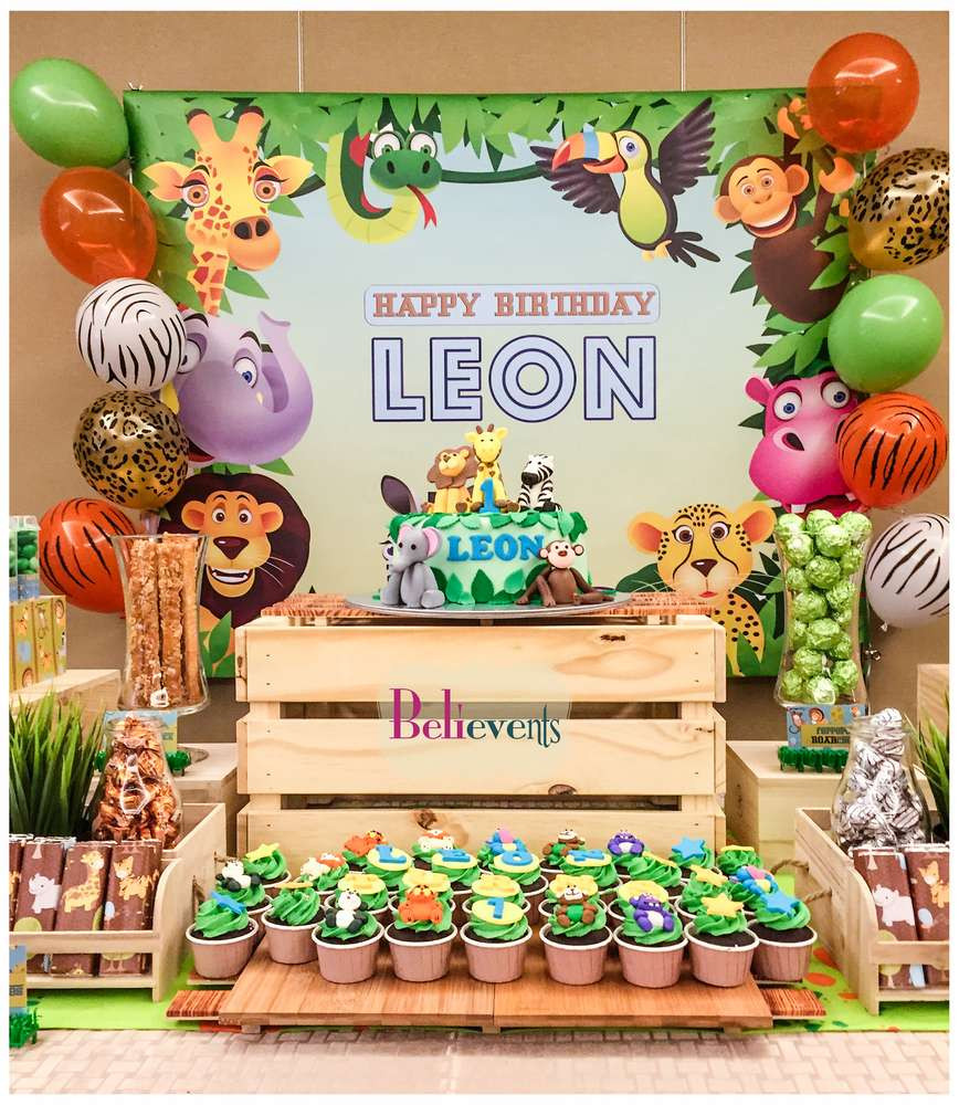 Best ideas about Animal Theme Birthday Party . Save or Pin Zoo Birthday Party Ideas 2 of 10 Now.