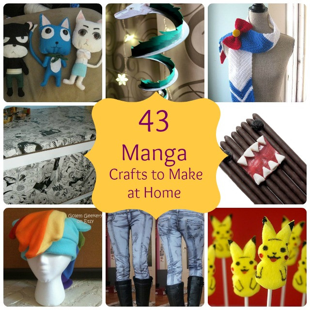 Best ideas about Anime Gift Ideas . Save or Pin 43 Simple Anime & Manga Gift Crafts to Make at Home Now.