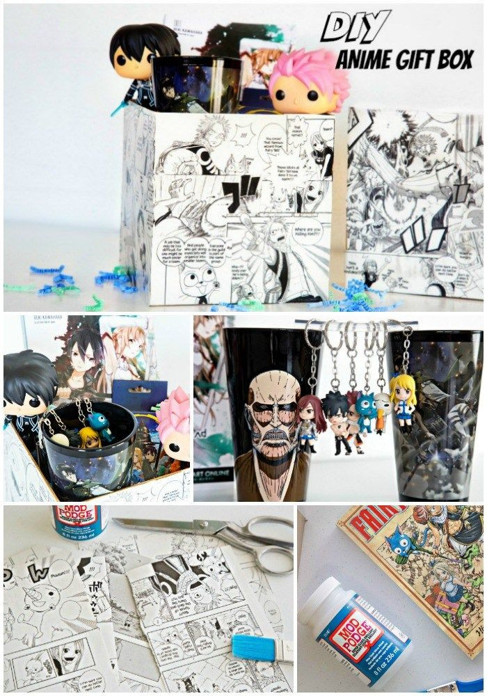 Best ideas about Anime Gift Ideas . Save or Pin DIY Anime Gift Box Anime Crafts Now.